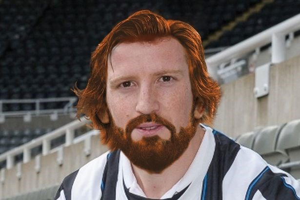 Neva 4get da mooment da Ginga Pirlo arrive Tyneside to pla for da Toon.