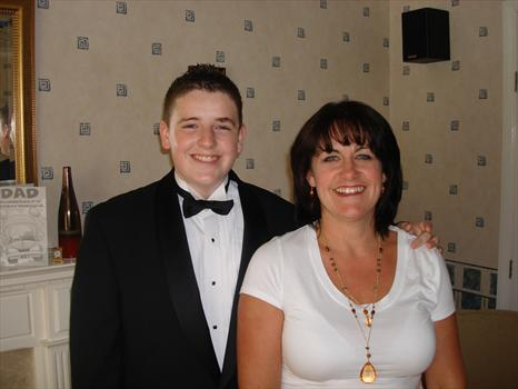 """Sam & """"Mother"""" on his Prom Night 22/06/2007"""