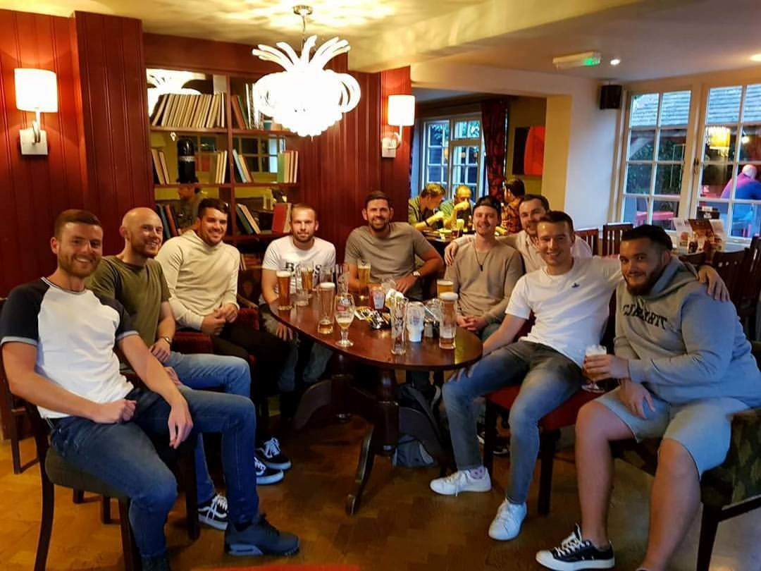 Sam's Mates on  what would have been his 26th Birthday