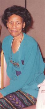 Mom at her Retirement Party 1991