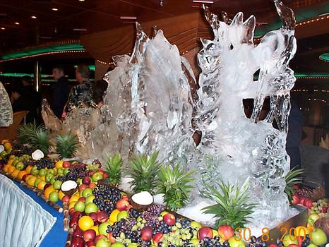 Ice Sculptures on Carnival Cruise