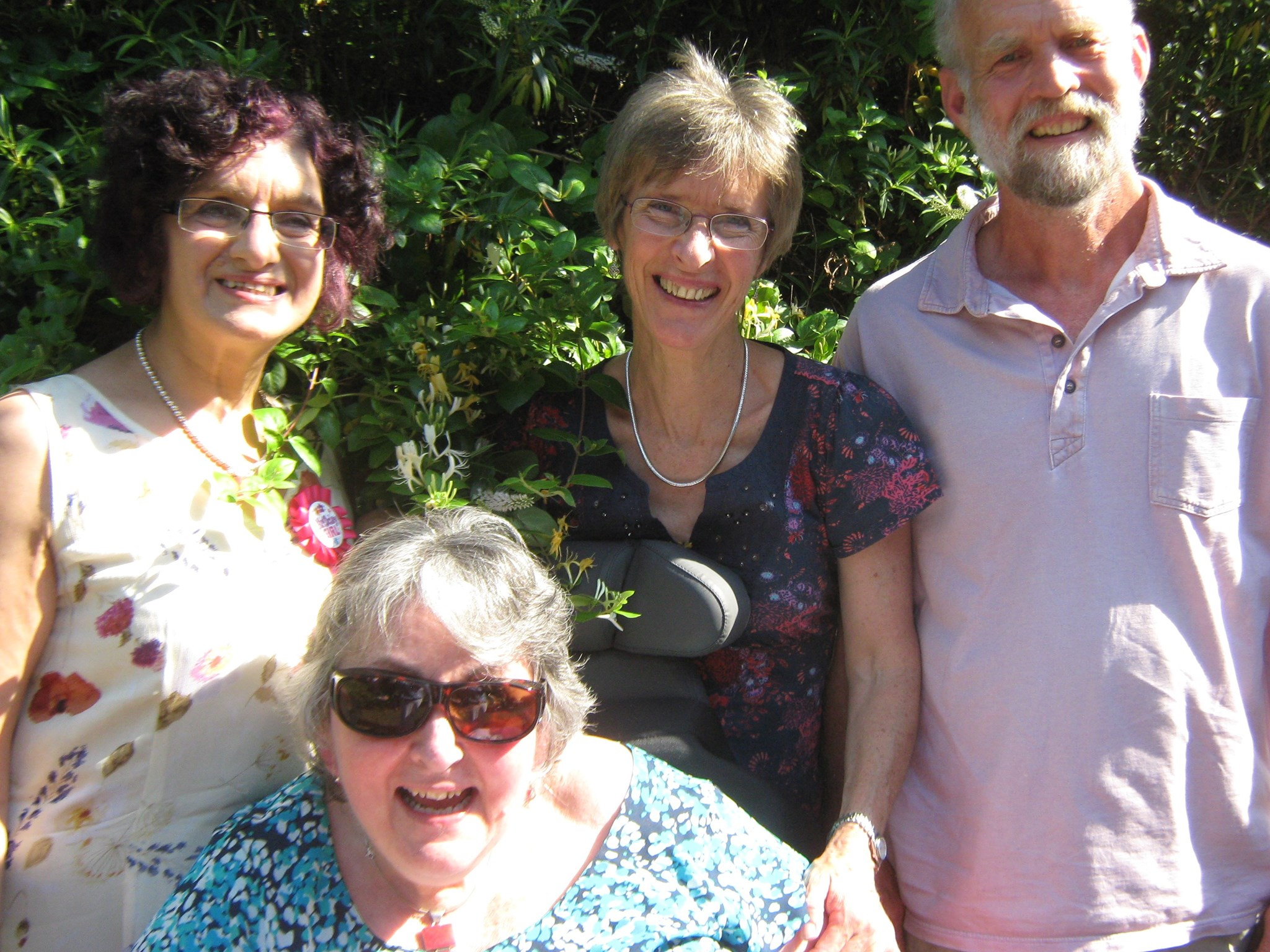 Sue, Jennie, Anne and Anhony Titley