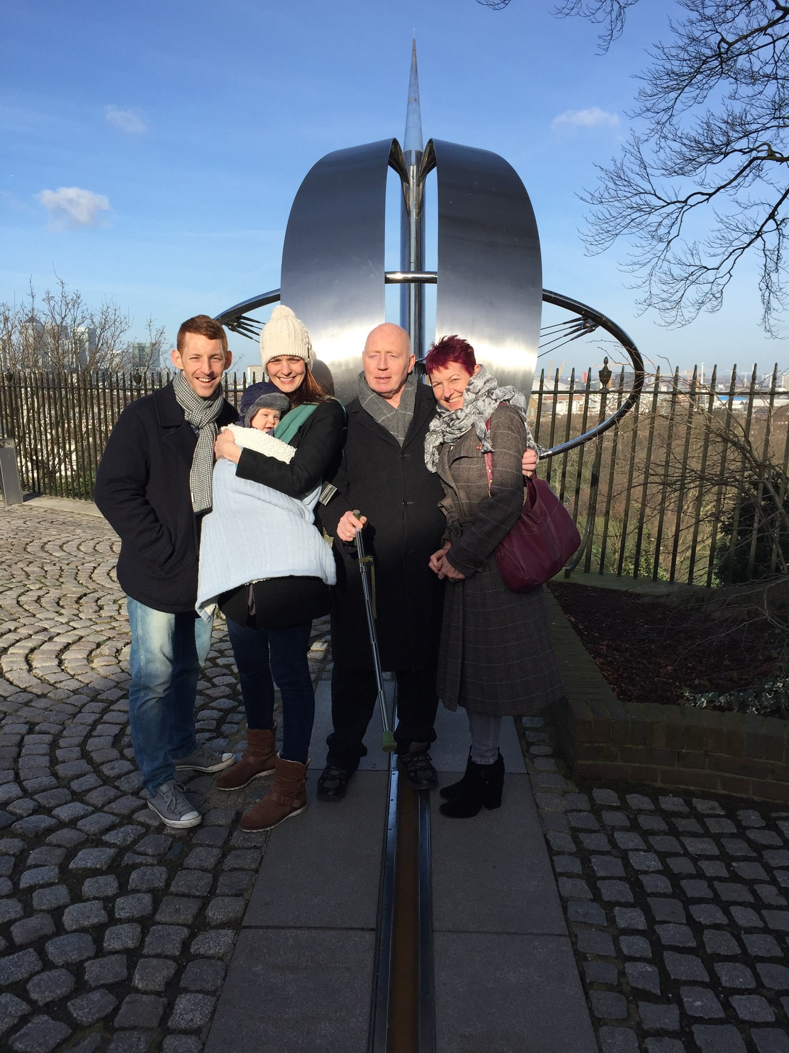 Family day out for Danny's 60th