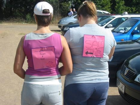 This was Sam's first Race for Life, She raised just under £1000 for Cancer Research