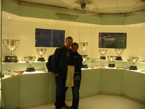 Me & Sam in the trophy room