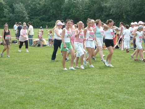 Carly, Sam, Jodie and Michelle. Race for life 2006