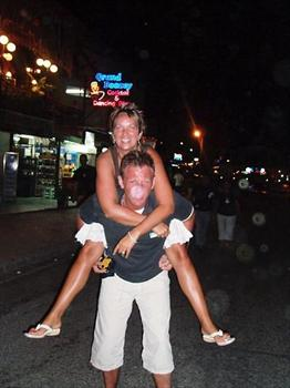 Turkey 2005 - One too many cocktails i think!!!...but what a great night Andy & Clare x