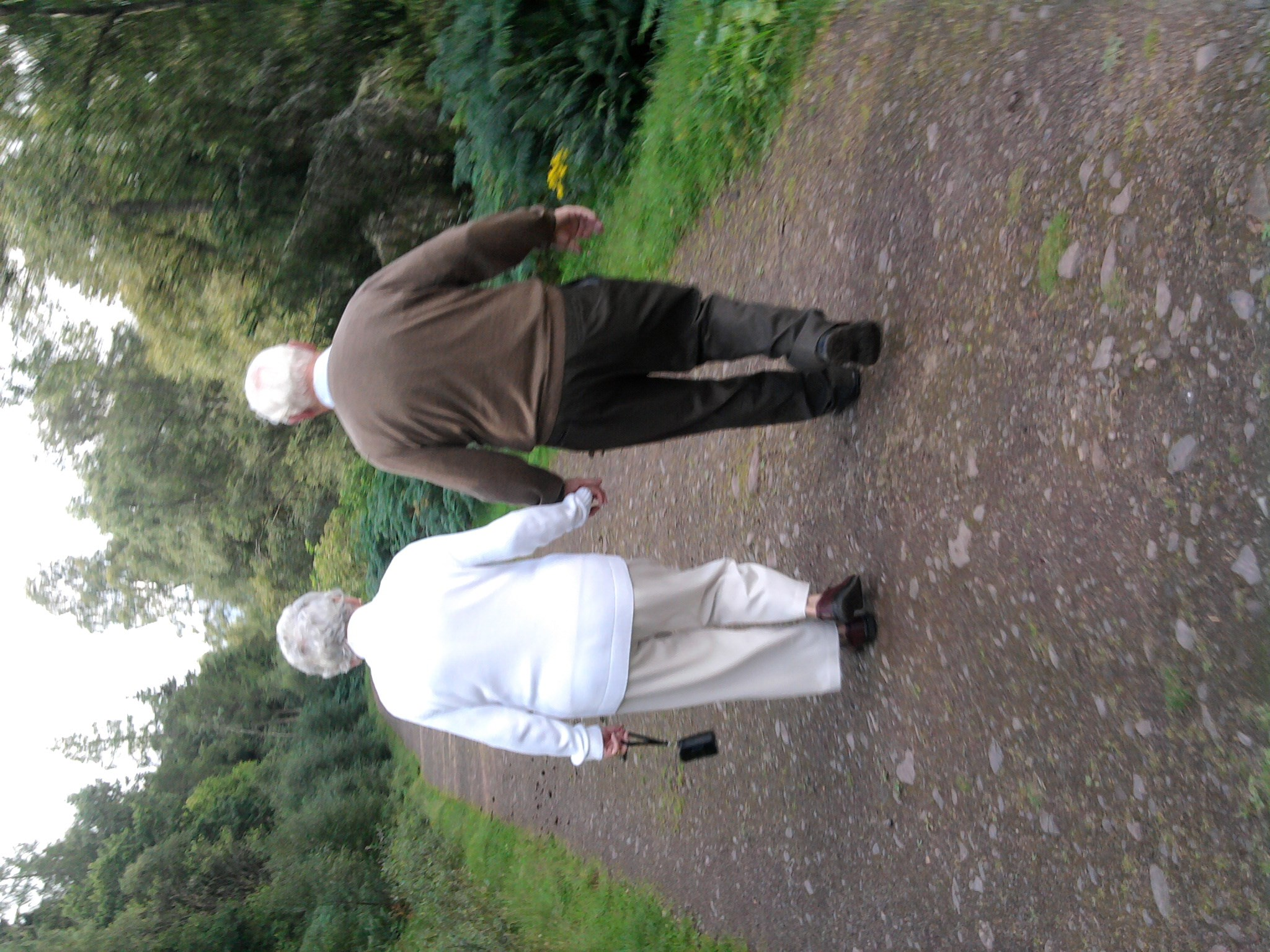 Hand in hand throughout their life together x
