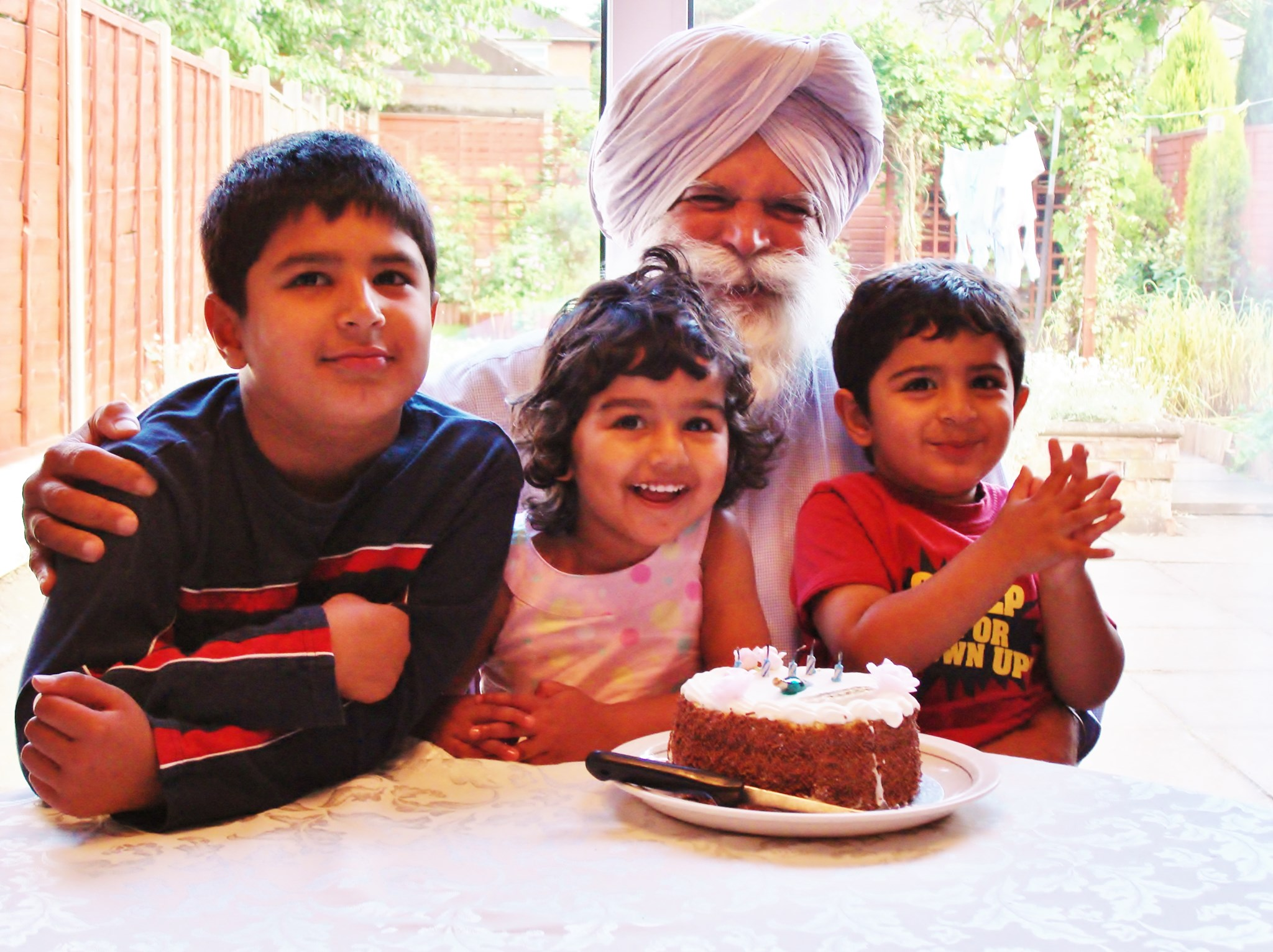Cake and the Grandkids (Perfect Combo)