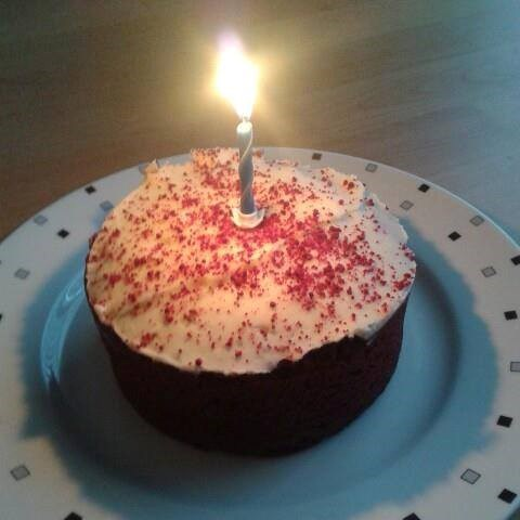 Celebrated your Birthday yesterday. Sorry for my potato camera (as you would say). Miss you! xxx
