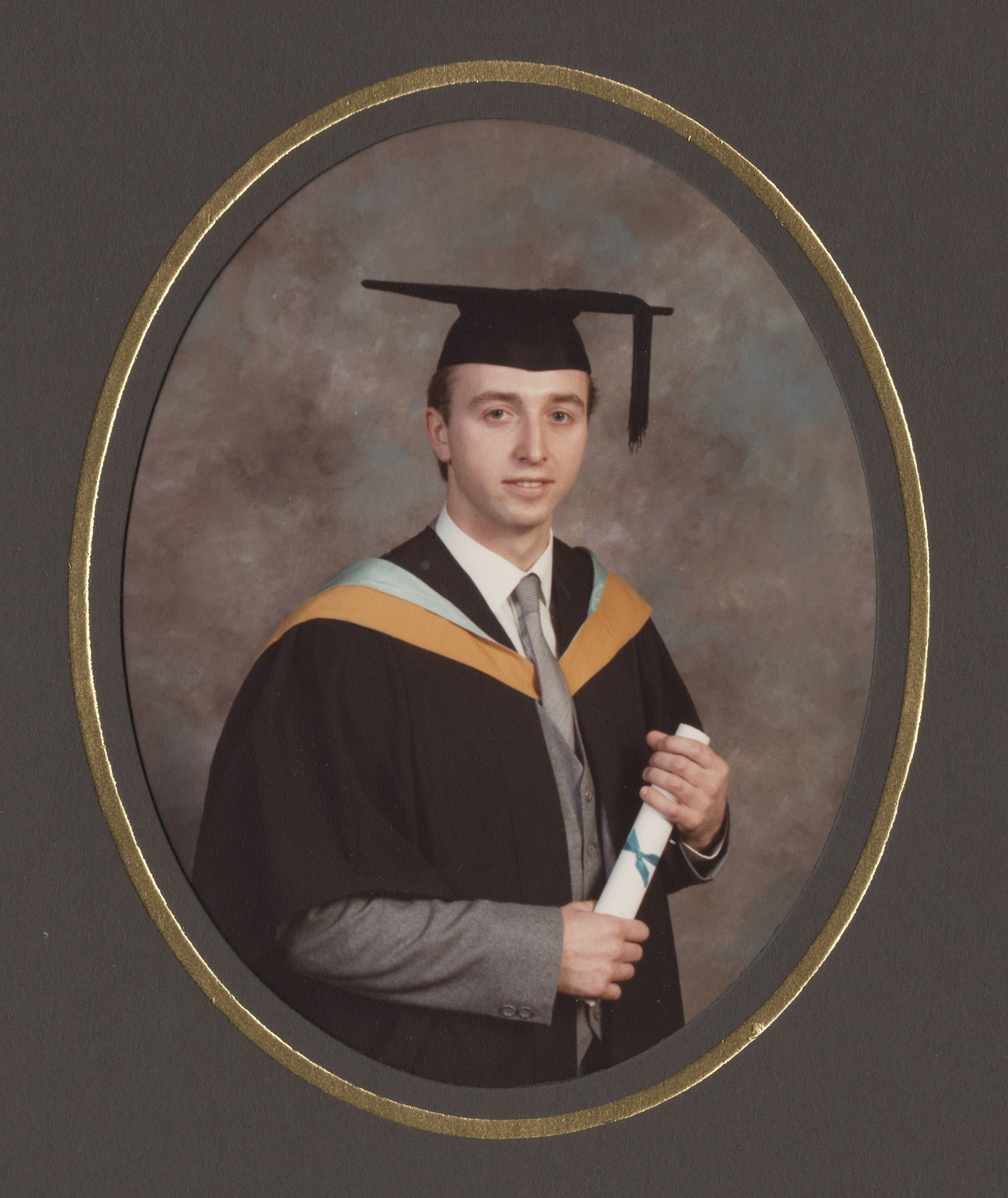 A Proud Day - John Summerbell graduated with BSc in Physiotherapy from Royal London Hospital 1986