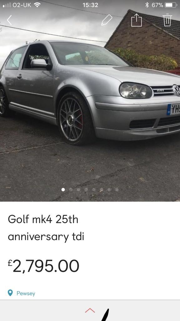 Broke my heart seeing your car up for sale xxxxx