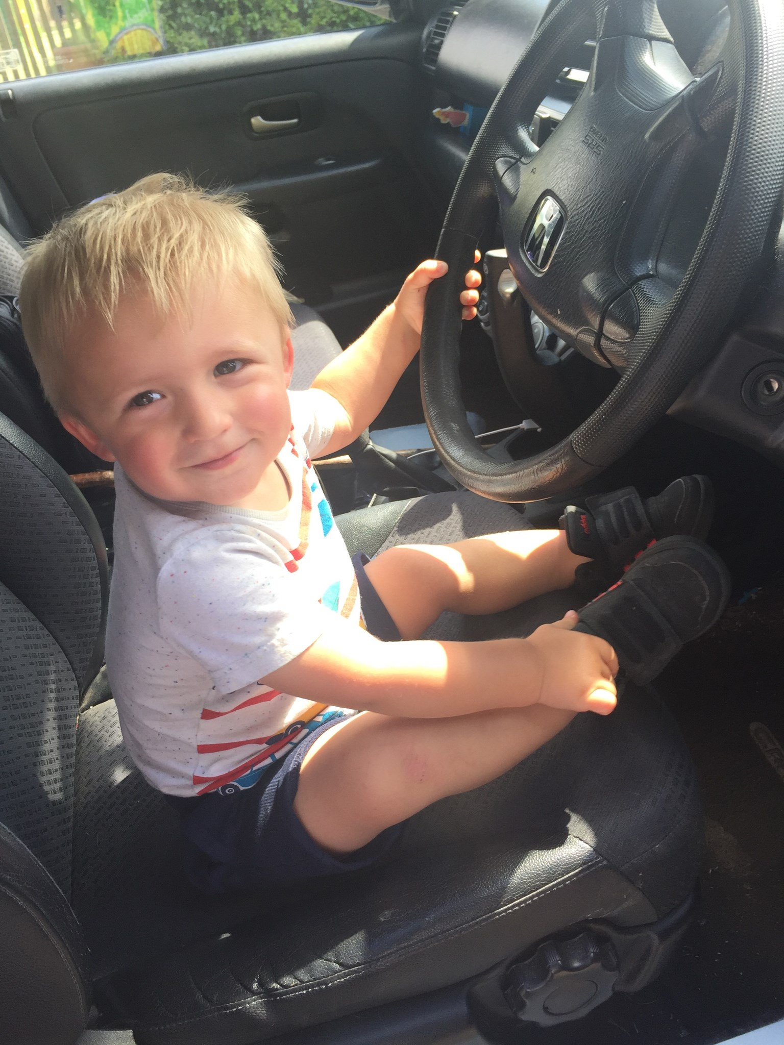 Your little man driving grannies car xxxxx