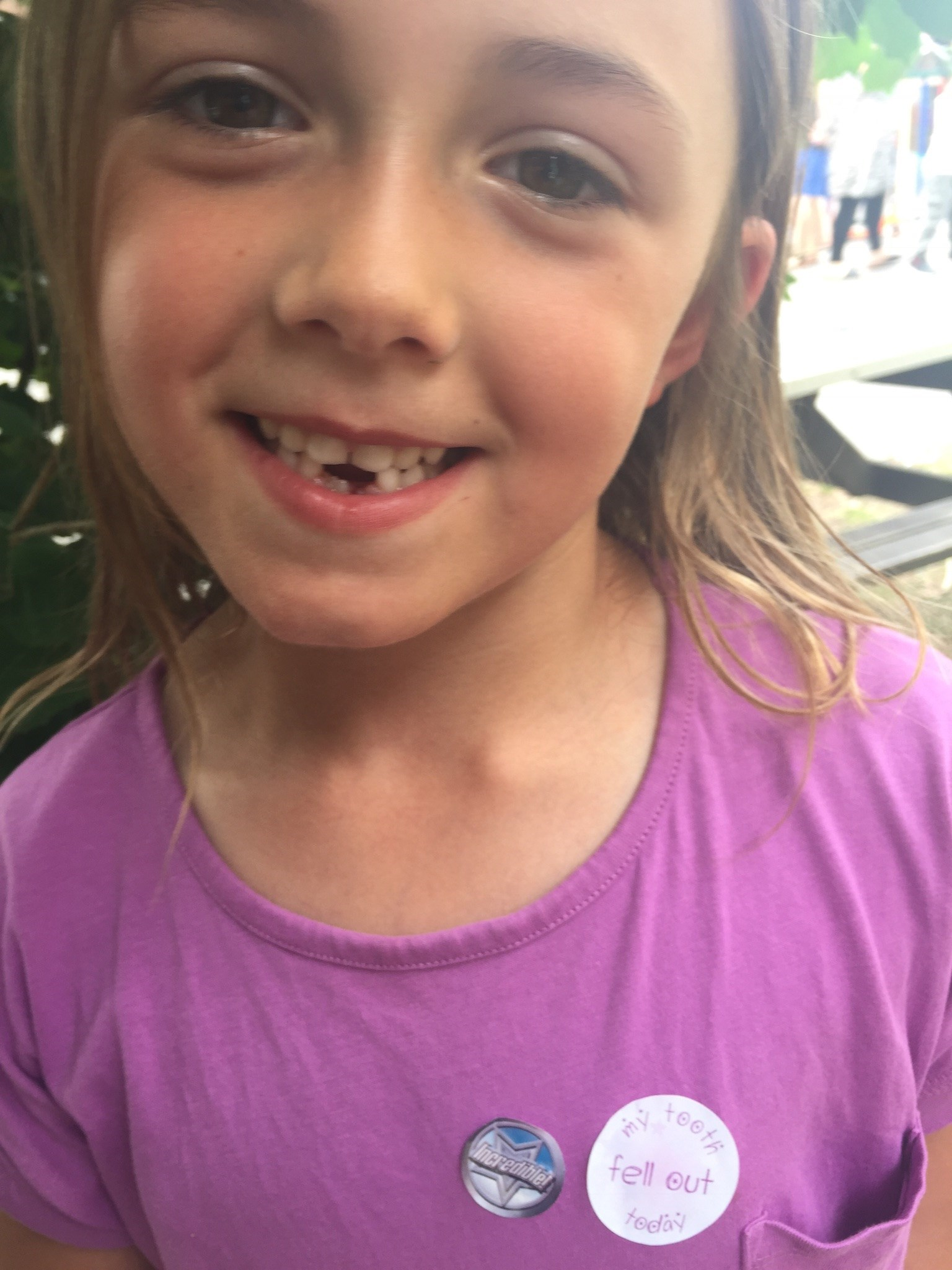 Lost another tooth today daddy xxxx