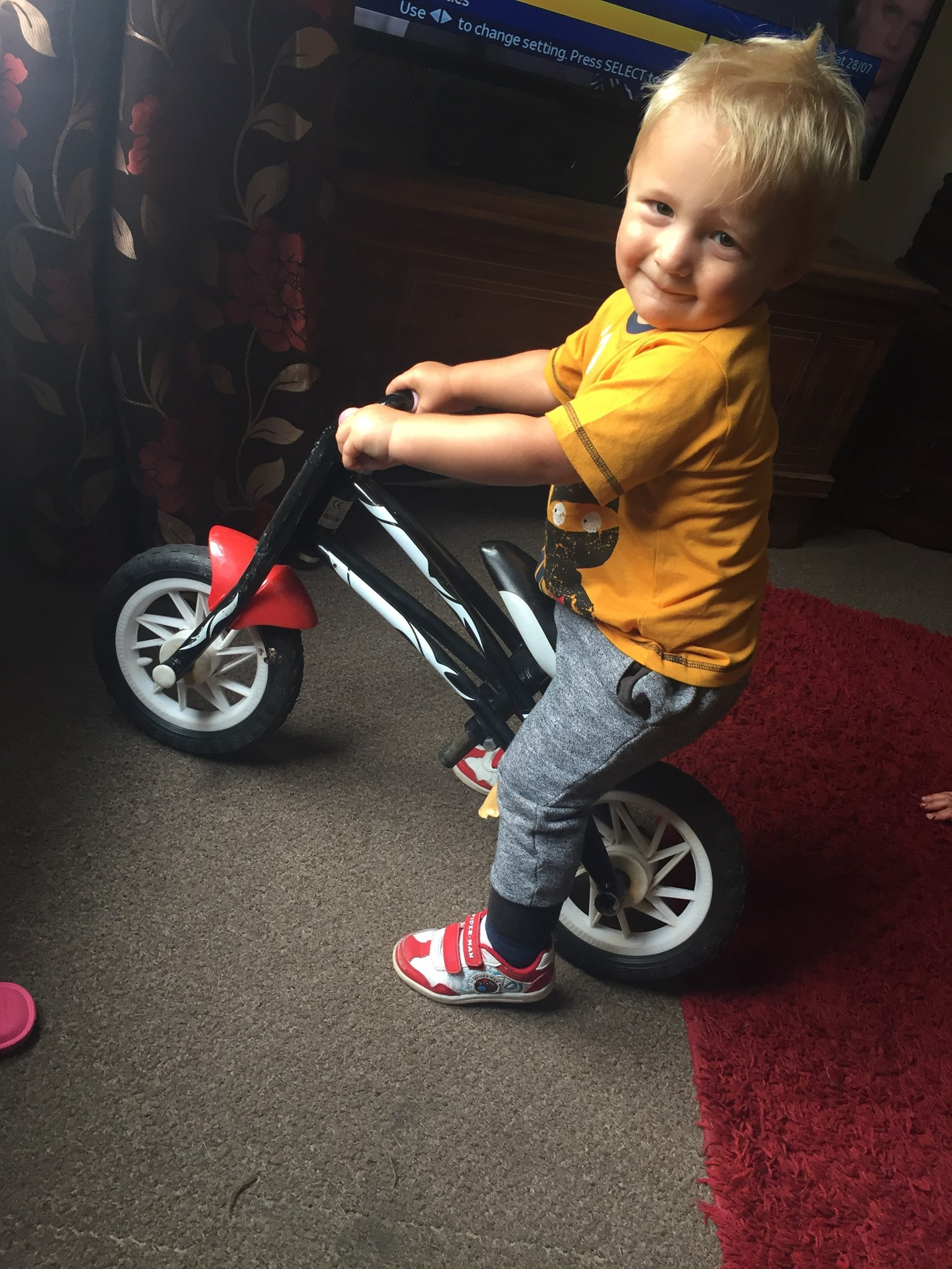 Rory on the bike you got Reann. It's even got PSA sticker on it xxxxx