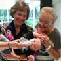Beth with her great-grandson, Shane and daughter Julie