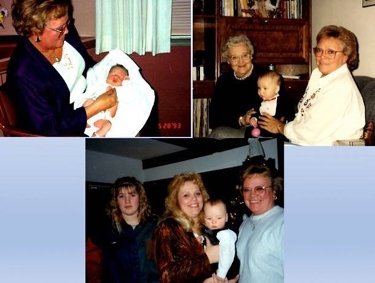 Gramma Beth (with baby Dylan)