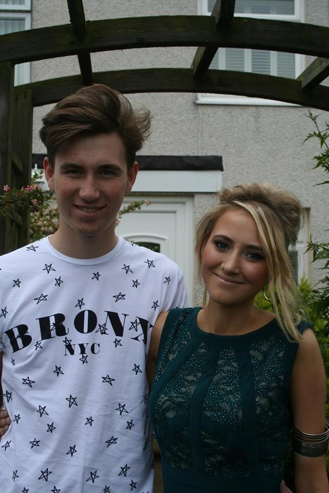 Alex and her Brother, Harrison
