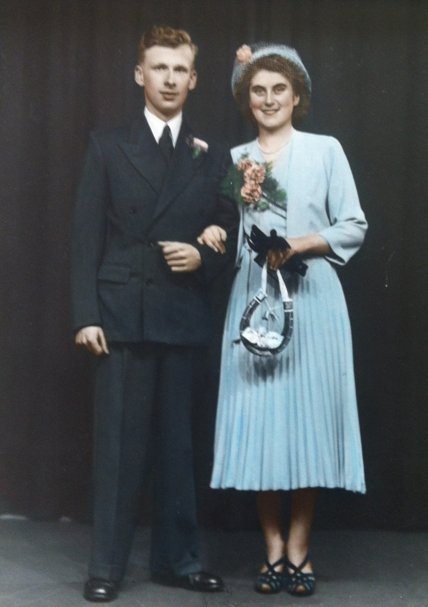 Joan (nee Golightly) and Lawrence Tully's Wedding 12 August 1950