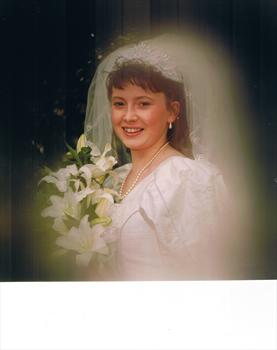 HER WEDDING DAY