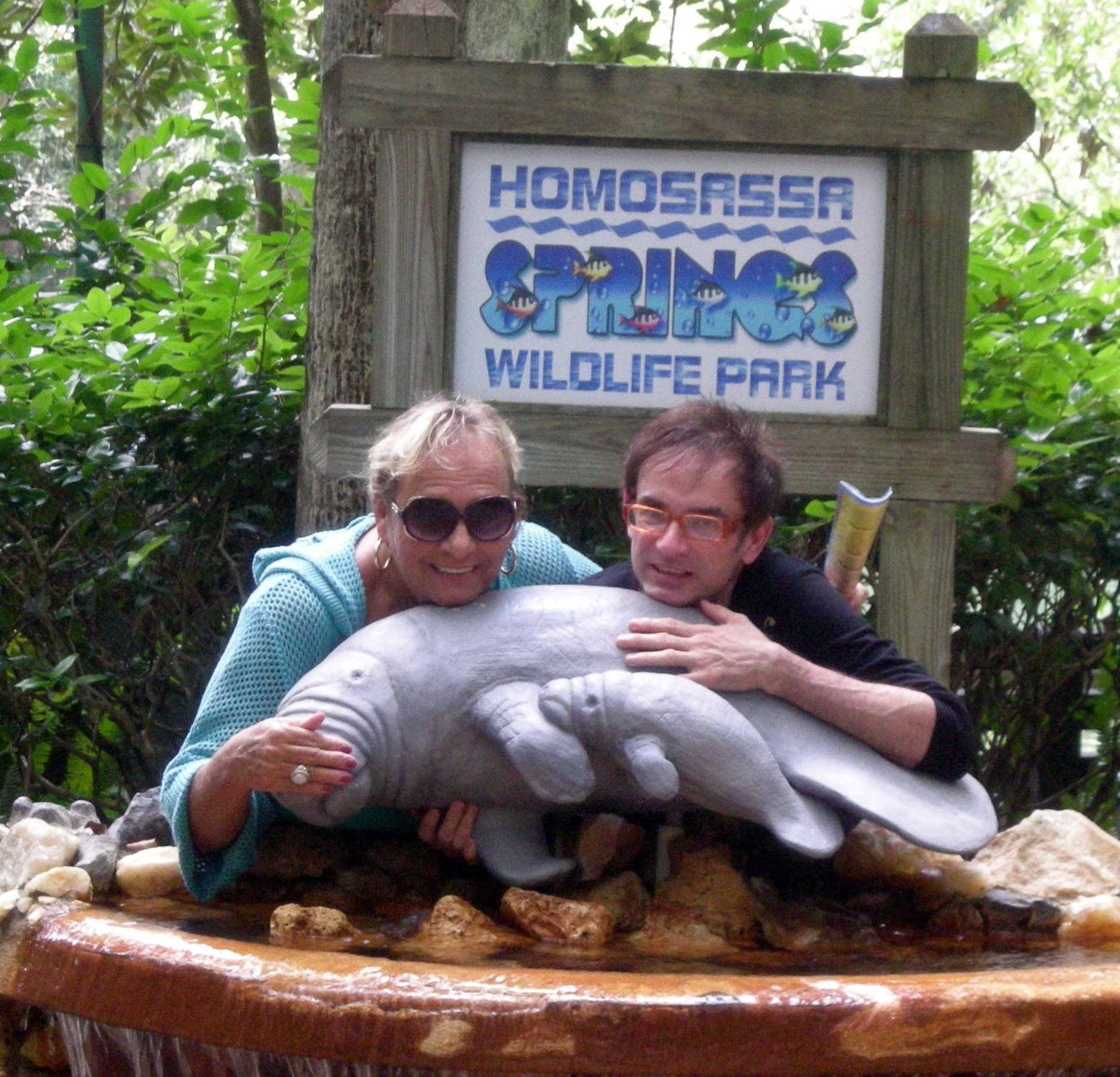 Wills & Nancy At Homosassa Springs