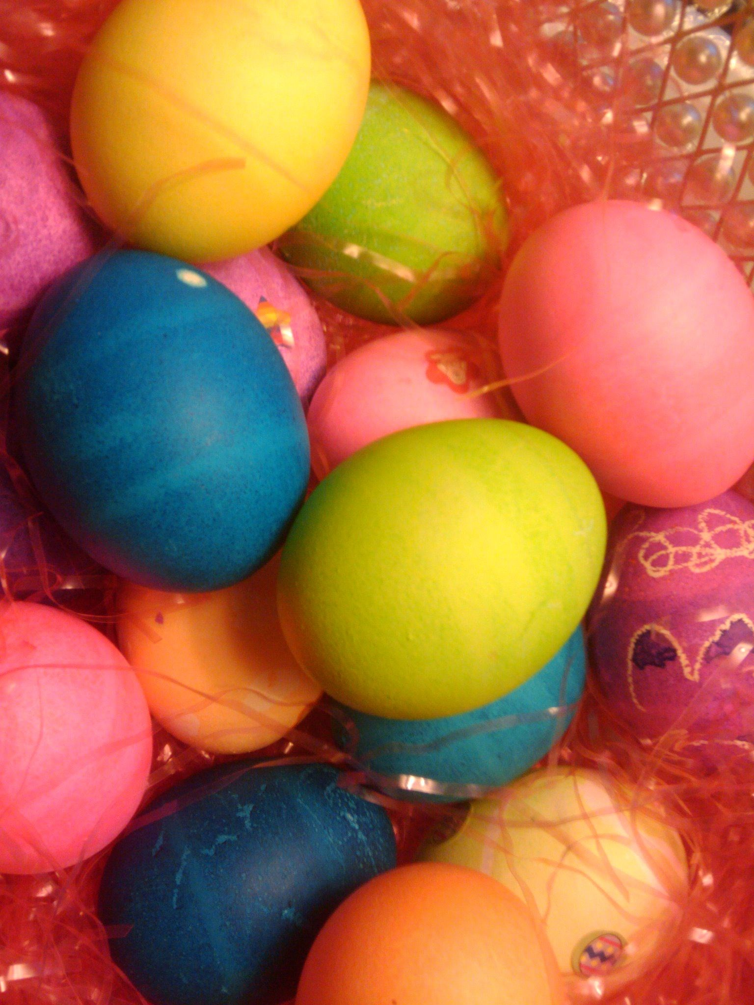Our Easter Eggs We Did Last Easter 04/2011