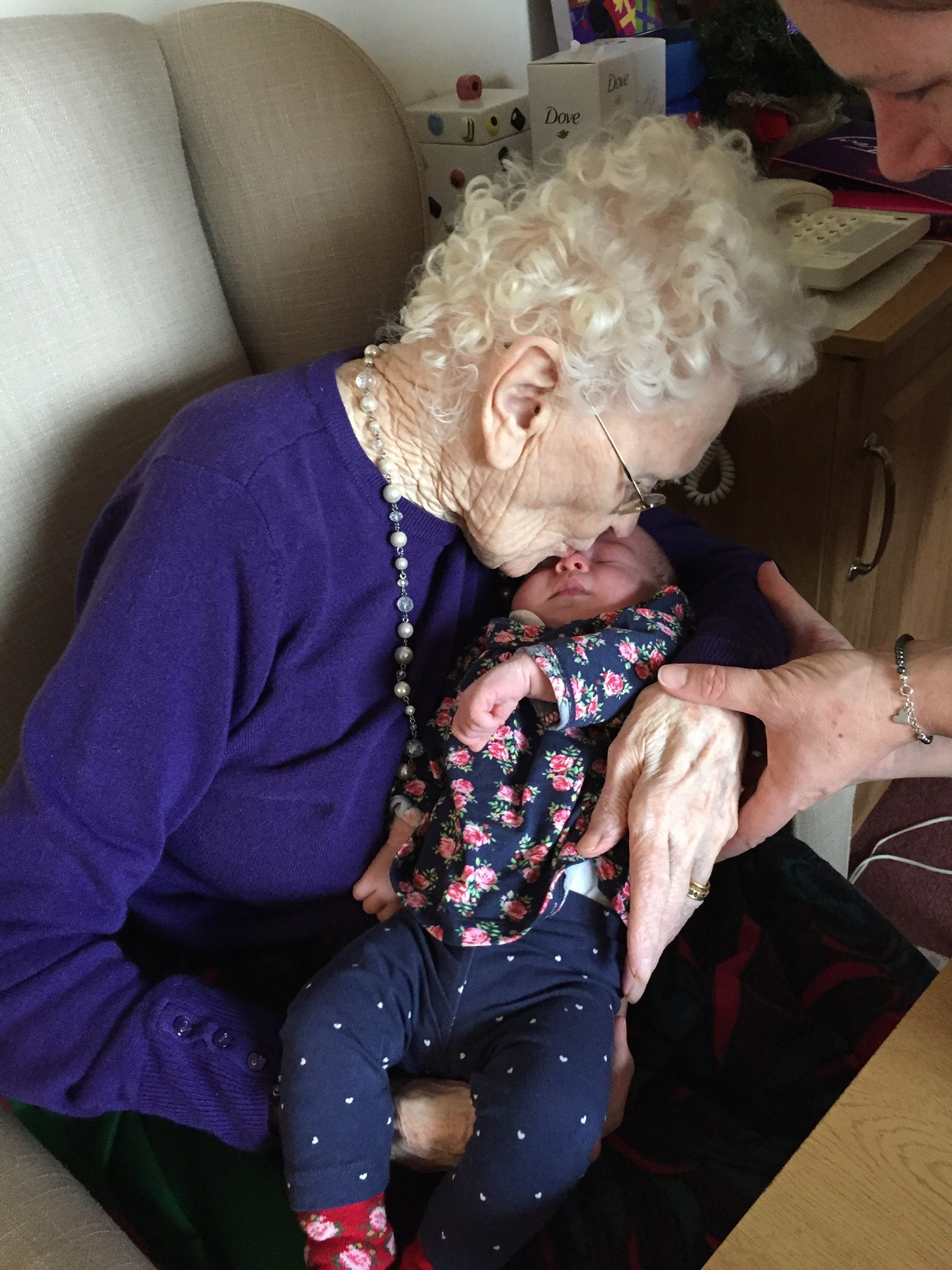 Gran and Poppy. Love Barrie and Jane. Xxx