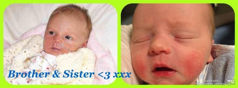 Nevaeh & her brother Jackson. Xx