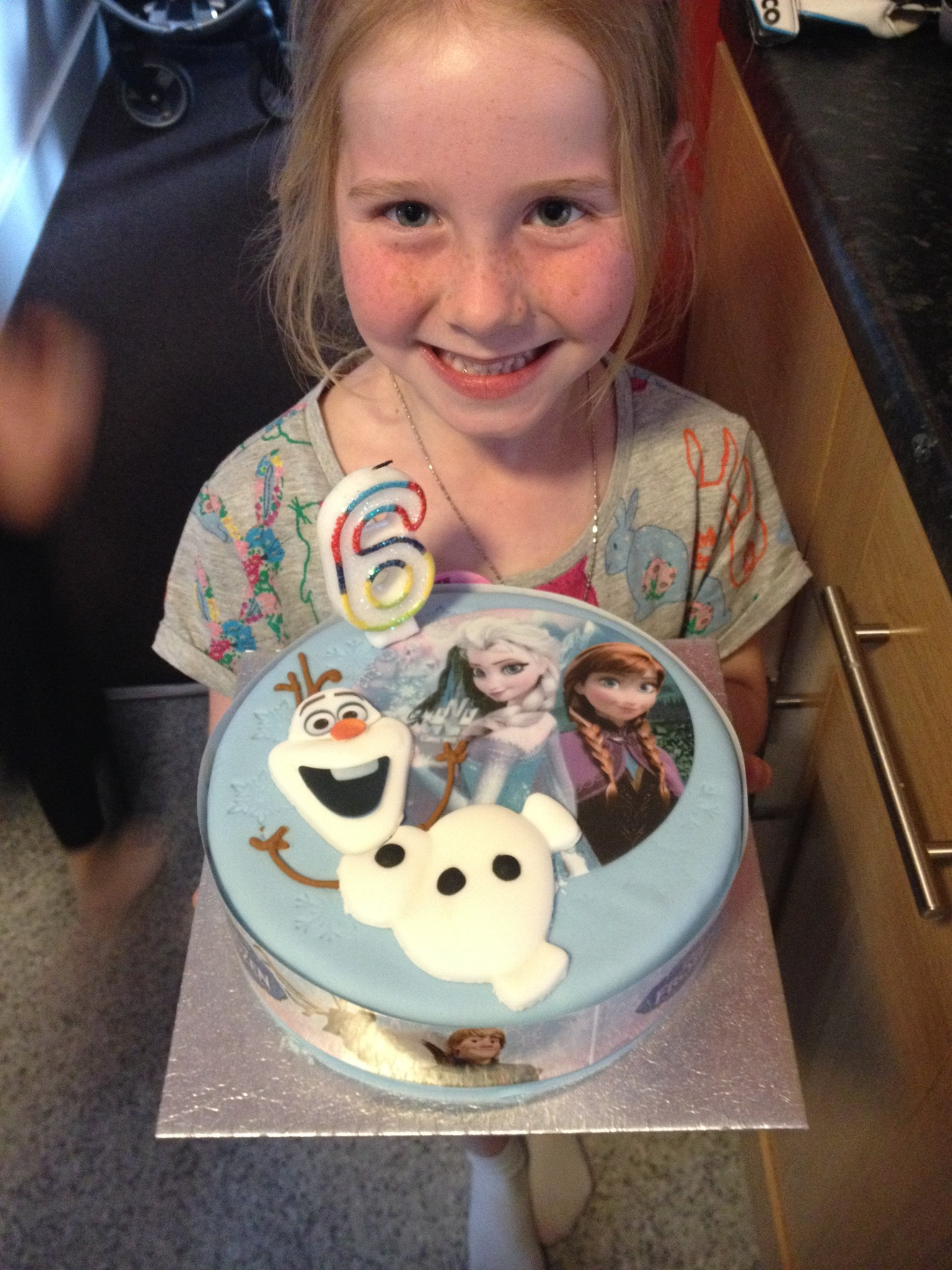 Your cousin Jessica on her 6th birthday this year. Only 3 months between you both :( xx