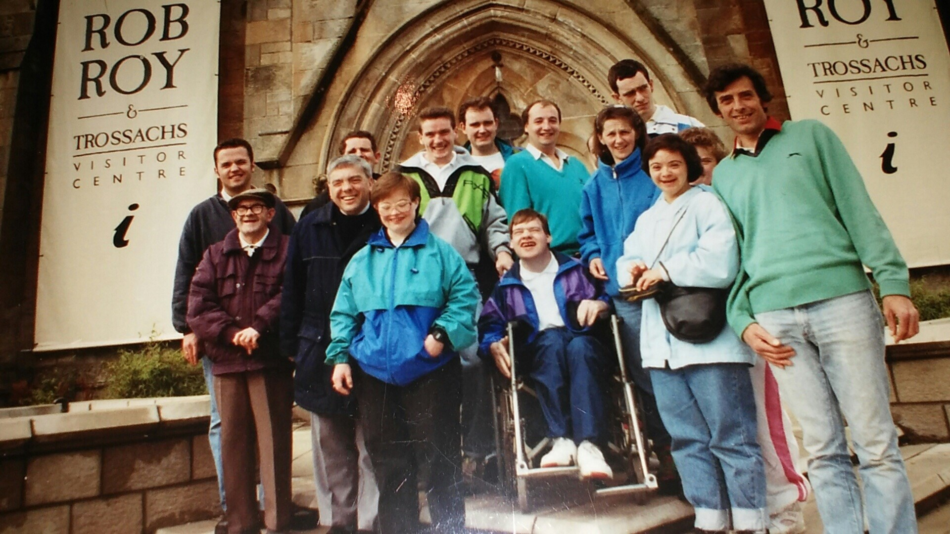 IBM Lake of Menteith Volunteering 1991