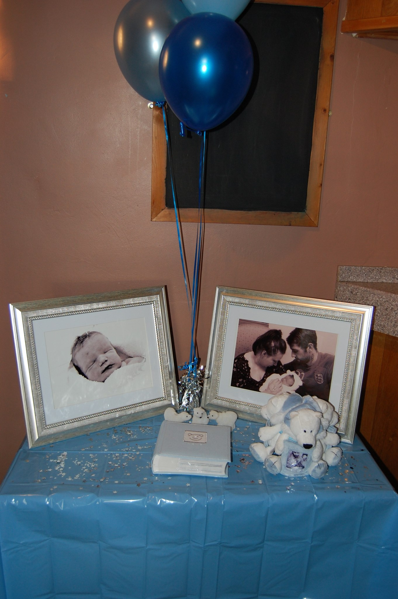To Celebrate Our Amazing Little boy x