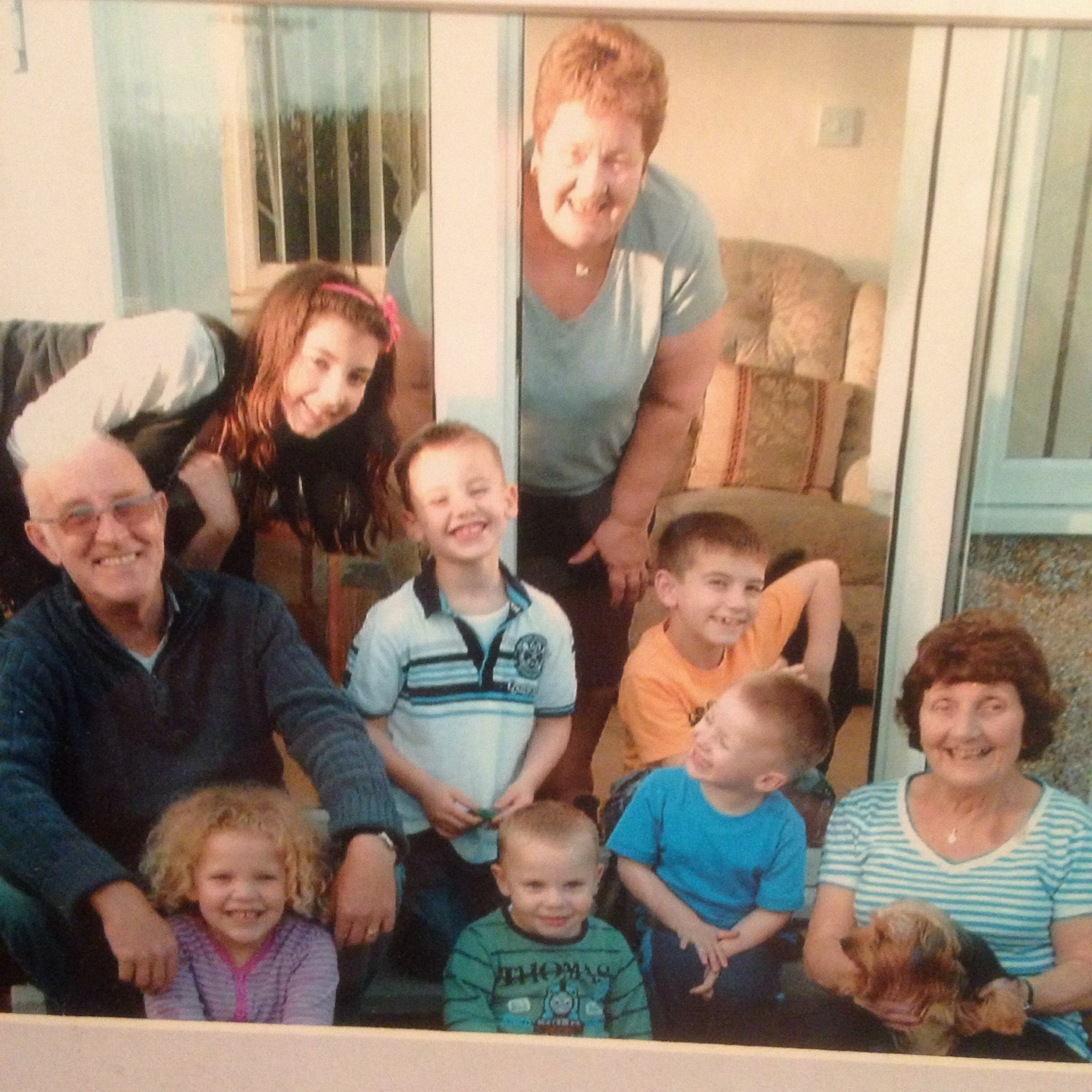 Lovely memories of all the family together