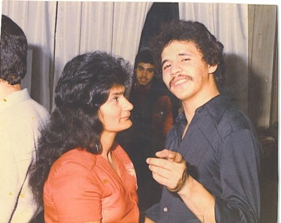 My father Jonny with my mother Mirta