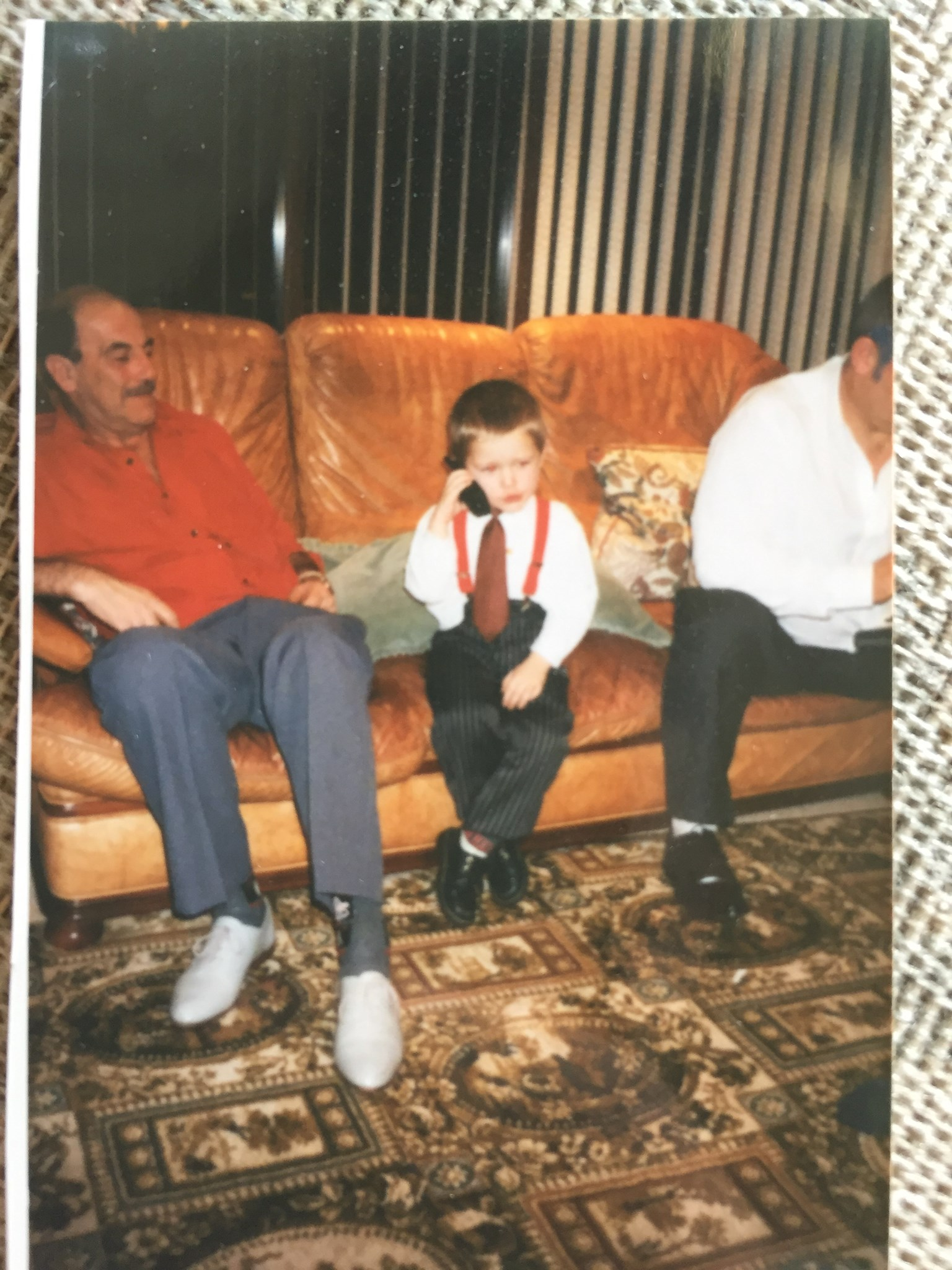 Gramp and a young Del Boy