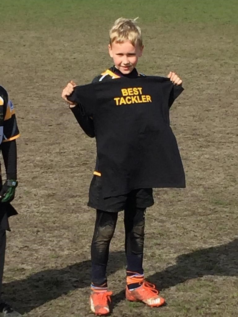 'Best Tackler' Camberley u9s