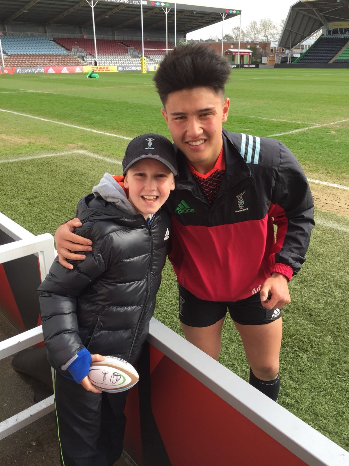 Meeting Marcus Smith at The Stoop
