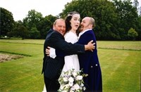 Wedding day - 18th Sept 2004 at Chiddingstone Castle