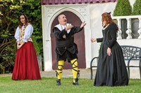 Joy's final stage appearance - as Maria in Twelfth Night at Polesden Lacey, July 2017