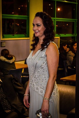 Looking stunning at the premiere of Tales of Albion - 11th Dec 2016