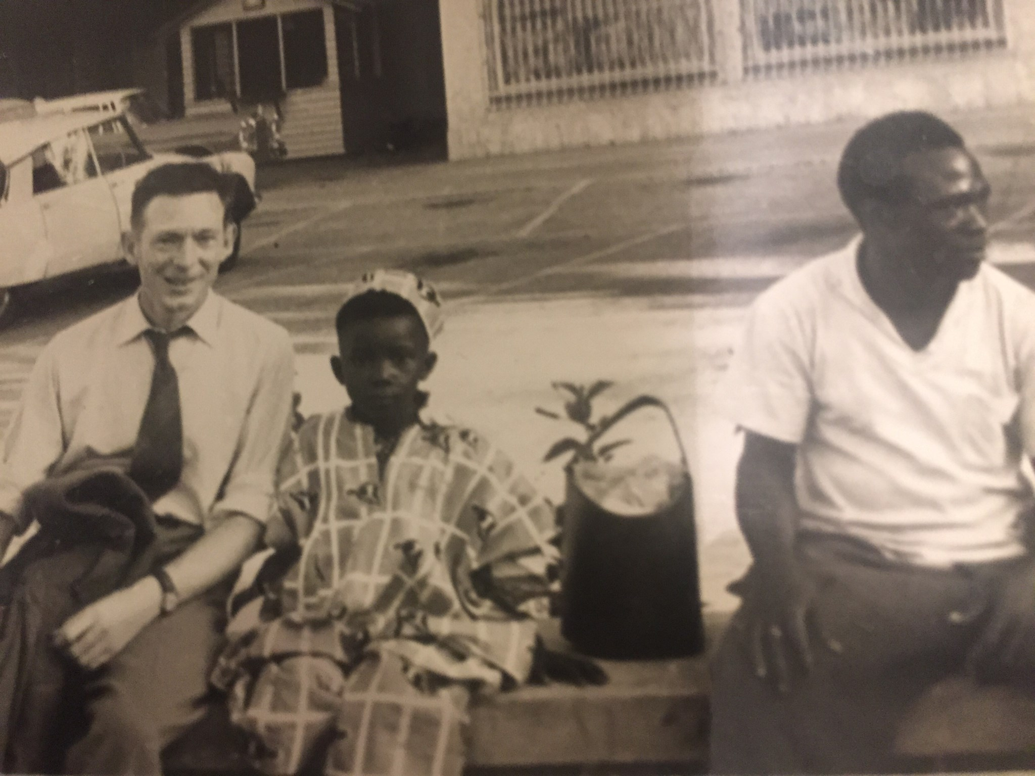 John in Accra on the day Ghana became independent