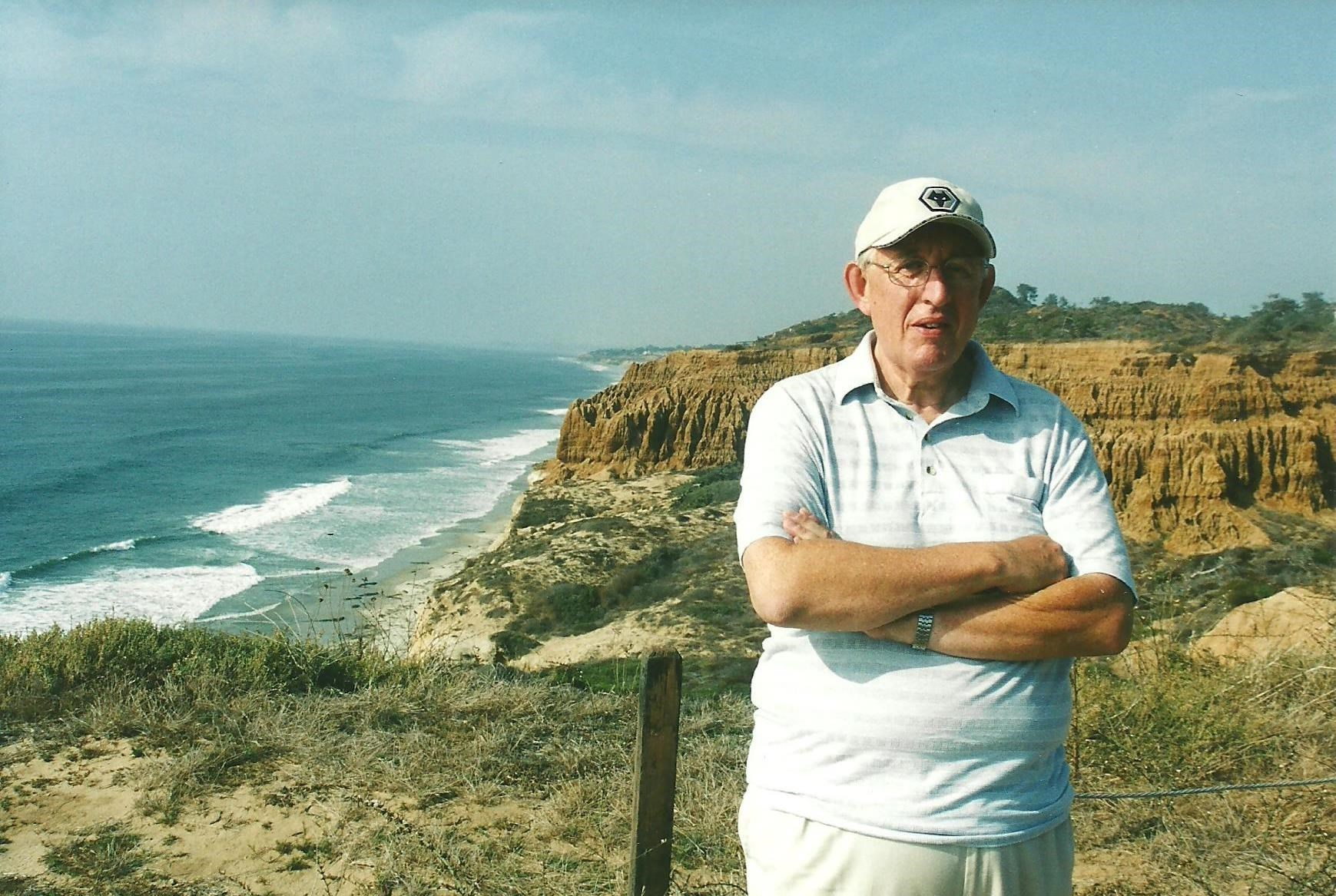 Tony at Torrey Pines in San Diego 2003