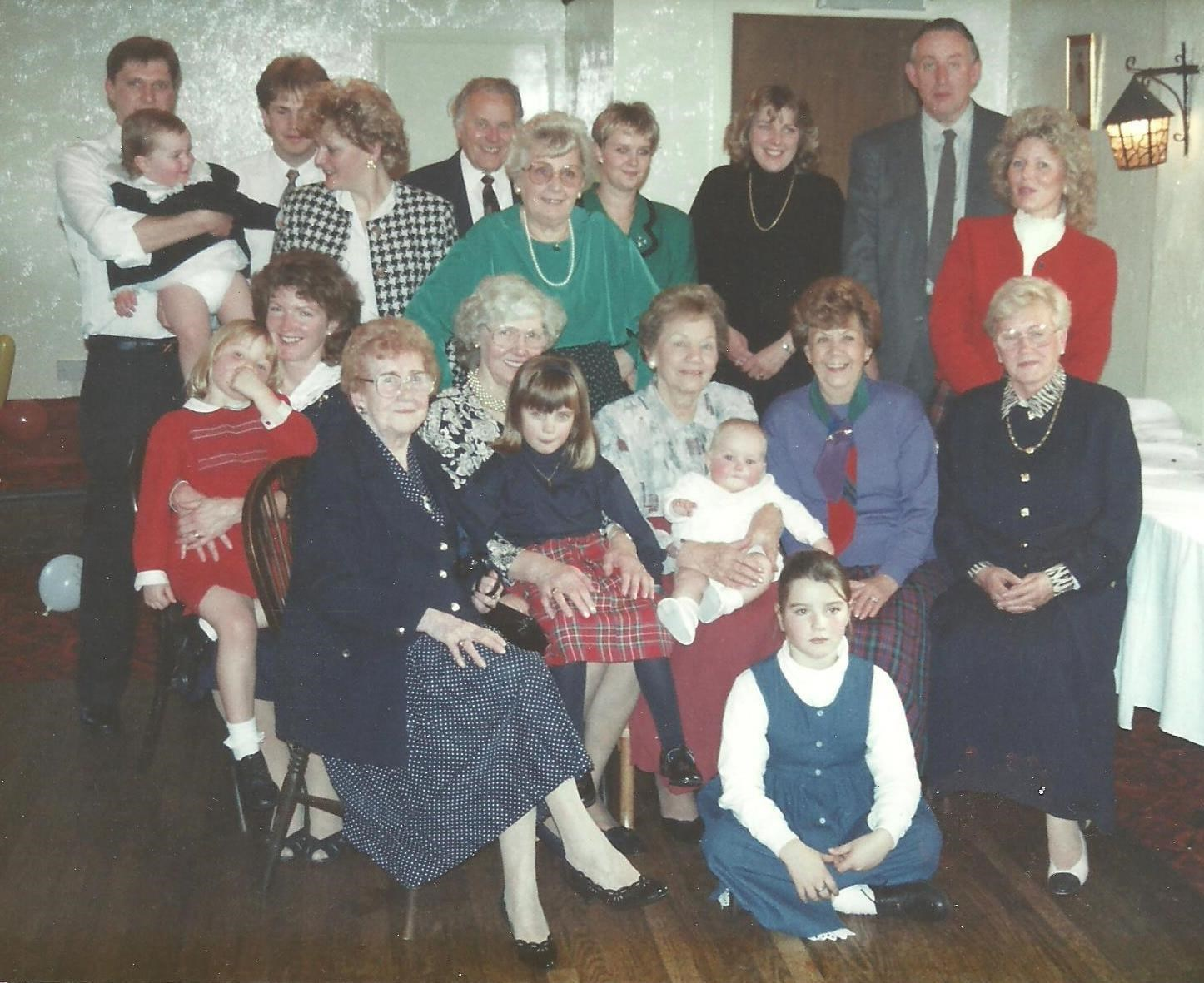 Probably Andrew Langford's Christening 1993