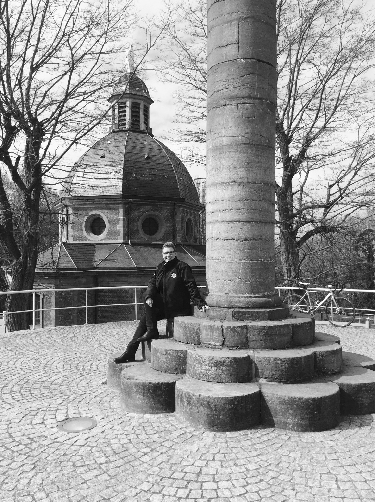On top of the Muur