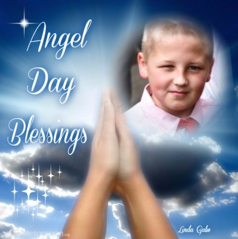 Angel day love and blessings Ross Xx