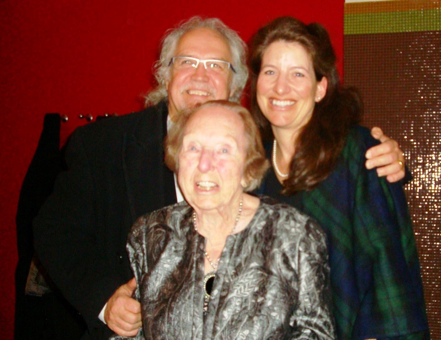 Verna with Maestro and Mrs. Donald Runnicles - Berlin, 2013