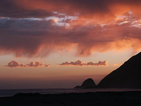 Point Mugu Campground. This photo was the inspiration for Jen's gravestone.