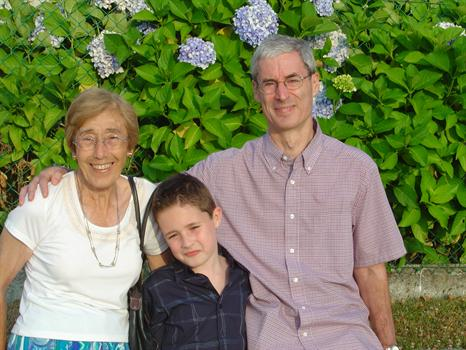 Mama with Malcs and Tim - Summer 2005