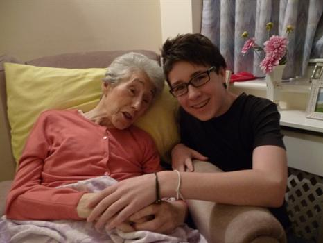 23 Dec 2010 - one of the last photos of mama