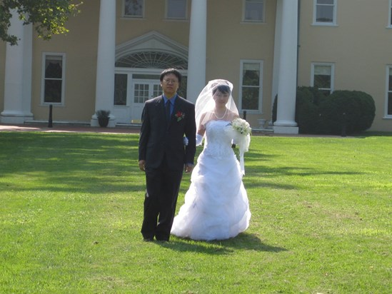 Wenbo walking his student (Xiao ZunLei)'s fiance down the aisle