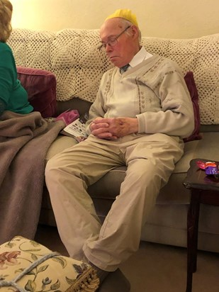 2019 12 25 Christmas Day and Father's 87th Birthday